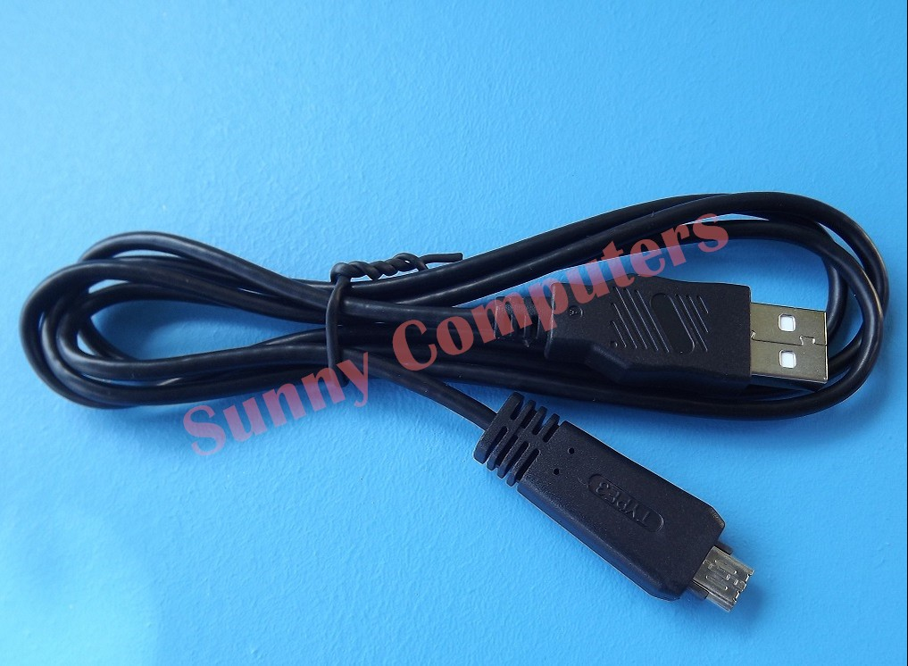 Camera Usb Cable To Computer : Vmc md digital camera usb data transfer cable for sony