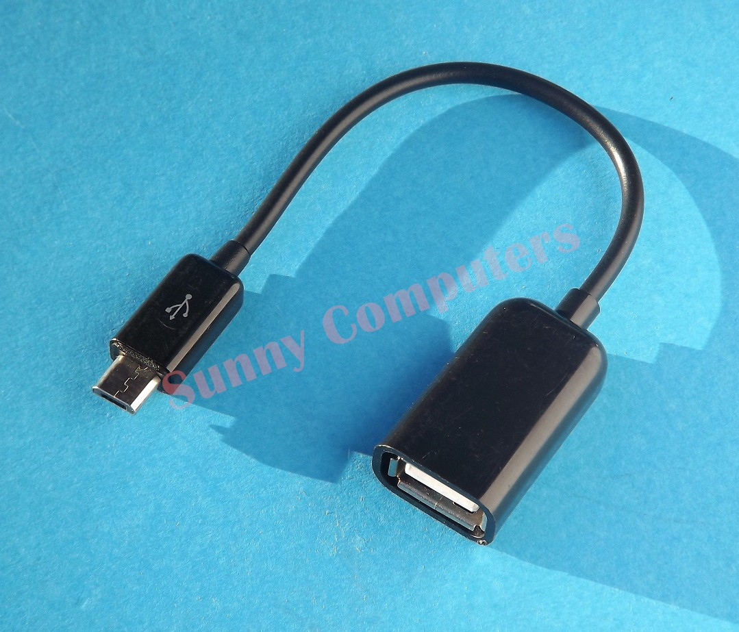 Micro-B OTG Cable V8 USB Host Adapter for Samsung Galaxy Note 3 8.0 N5110 N5100 | eBay