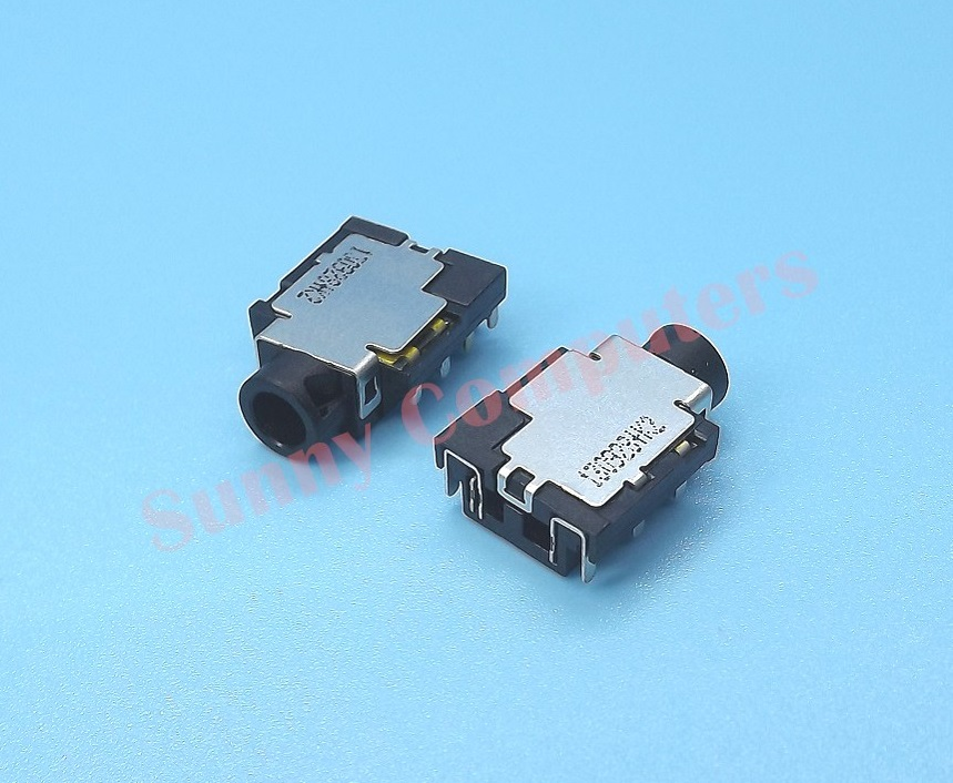 3.5mm Stereo Audio AUX Port Plug Socket 7-pin Replacement Part Jack ...