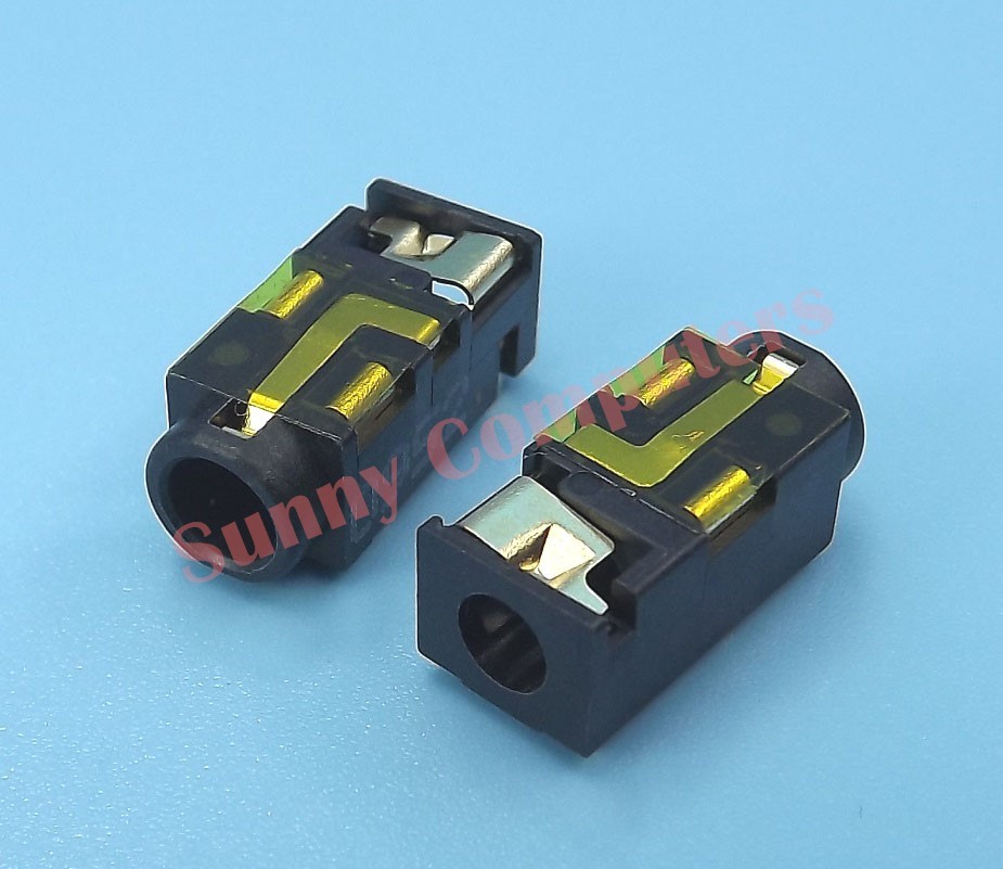 3 5mm Stereo Audio Mic Jack Port Replacement Plug Socket For